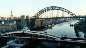 Fluss Tyne Newcastle stockfotos