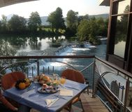 Fluss Una, Bosnien Lizenzfreie Stockbilder