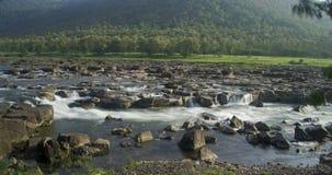 Fluss und Kaskade Indien Lizenzfreies Stockbild