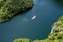 Fluss, Uvac-Schlucht Lizenzfreies Stockbild