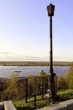 Fluss Volga Stockbild