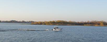 Fluss-Volga Astrakhan Lizenzfreie Stockfotografie