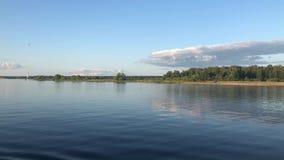Fluss Volga in Russland
