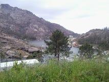 Fluss von Ã-‰ zaro, in galizischem Atlantik lizenzfreie stockfotografie
