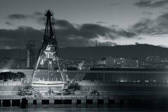 Fluss von Bilbao Lizenzfreie Stockfotografie