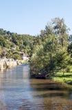 Fluss von Frankreich Lizenzfreies Stockfoto