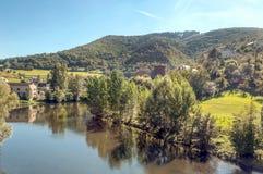 Fluss von Frankreich Stockfotos