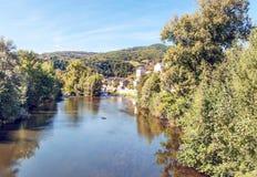 Fluss von Frankreich Stockfotografie