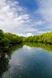 Fluss von KOH payam lizenzfreies stockfoto