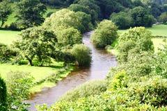 Fluss in Wales lizenzfreies stockbild