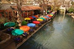 Fluss-Weg in San Antonio, Texas Lizenzfreie Stockbilder