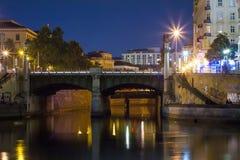 Fluss Wien Lizenzfreie Stockfotografie