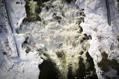 Fluss wild Stockfoto