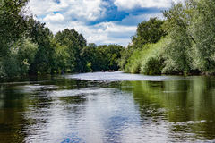 Fluss-Ypsilon Lizenzfreie Stockfotografie