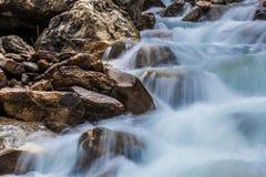Fluss-Zusammenfassung Lizenzfreie Stockfotos