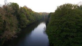 Flussabnutzung Lizenzfreie Stockfotos