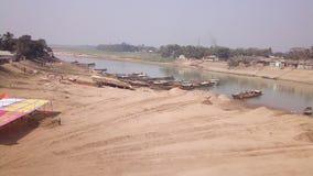 Flussansichtbereich Lizenzfreies Stockbild