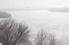 Flussbank Irtysh - III Lizenzfreies Stockbild