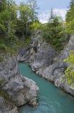 Flussbett Lech Lizenzfreies Stockfoto