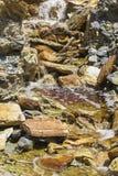 """Flussbett in  """"Minas de Riotintoâ€, Huelva Stockbild"""