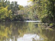 Flussbiegung Stockfotos