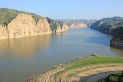 Flussbiegung Lizenzfreies Stockbild