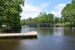 Flusshalt Lizenzfreie Stockfotografie