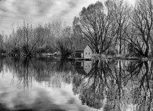 Flusshaus Stockfotografie