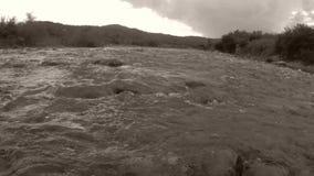 Flussi del fiume stock footage