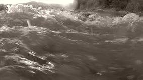Flussi del fiume video d archivio
