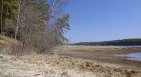 Flussküste Lizenzfreie Stockbilder