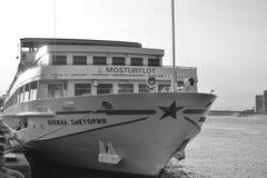 Flusskreuzschiff Stockfotos