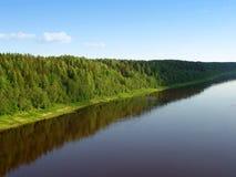 Flussland 3 Stockbild