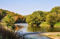 Flusslauf Lizenzfreie Stockbilder