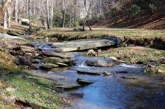 Flusso #1 della montagna Fotografie Stock Libere da Diritti