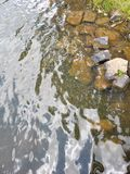 flusso fotografie stock