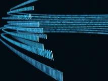 Flusso binario Fotografia Stock Libera da Diritti