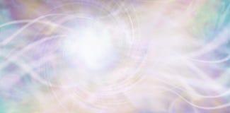 Flusso continuo del fondo etereo di energia illustrazione vettoriale