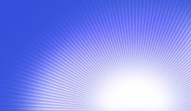 Flusso continuo della luce solare Fotografia Stock Libera da Diritti