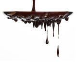Flusso del cioccolato caldo immagine stock libera da diritti