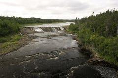 Flusso del fiume Immagine Stock