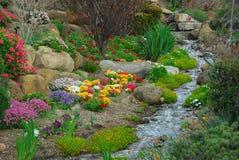 Flusso del giardino Fotografia Stock