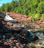 Flusso del Minnesota Fotografia Stock Libera da Diritti