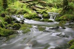 Flusso del Moorland fotografie stock libere da diritti