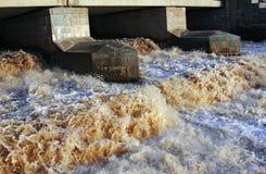 Flusso dell'acqua Fotografia Stock