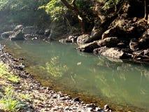 Flusso dell'acqua Fotografia Stock Libera da Diritti