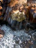 Flusso dell'acqua - ecologia immagine stock