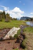 Flusso dell'alta montagna immagini stock