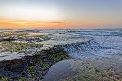 Flusso dell'oceano Immagini Stock