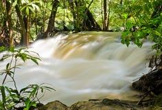 Flusso della cascata Fotografie Stock Libere da Diritti